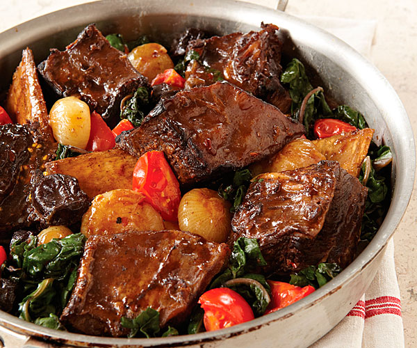 Sake Braised Short Ribs Recipe Finecooking