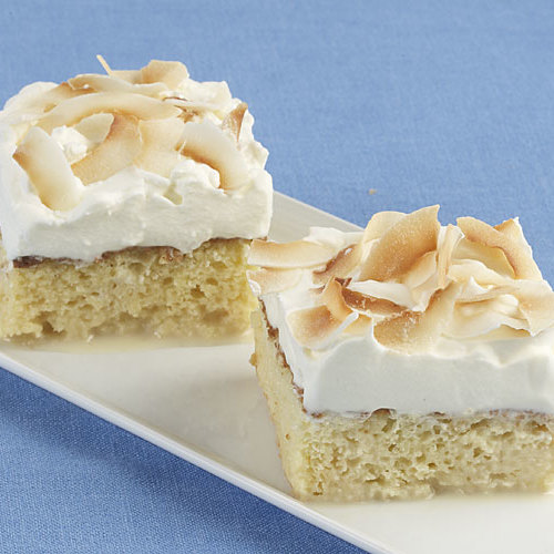 Toasted Coconut Tres Leches Cake Recipe Finecooking