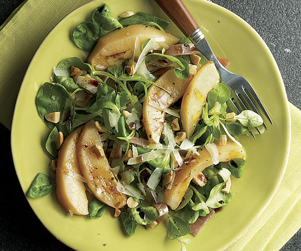 Poached Quince Salad