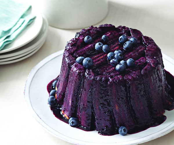 Blueberry Filled Cake Recipe