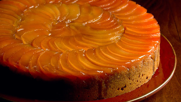Cake Recipes Using Quinces: Upside-Down Quince And Honey Spice Cake