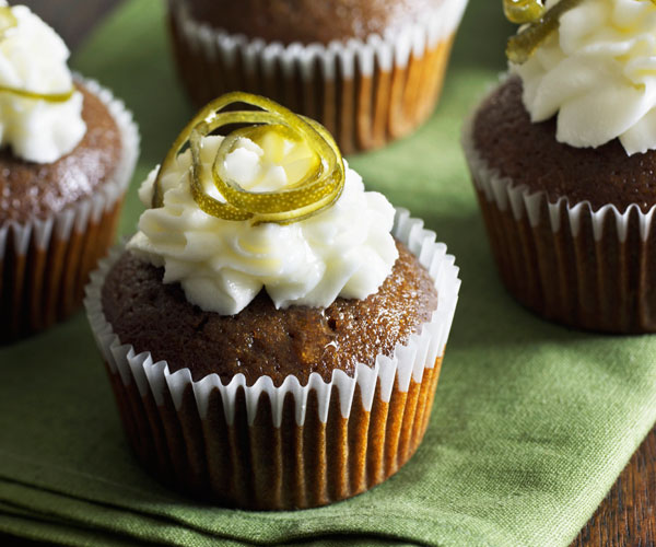 Guinness-Gingerbread Cupcakes