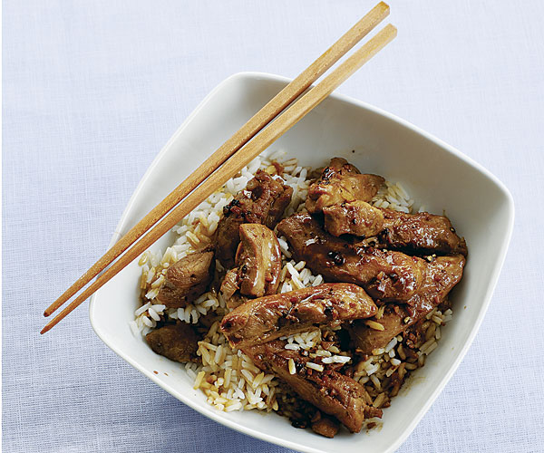 Chicken Adobo With Rice Recipe Finecooking