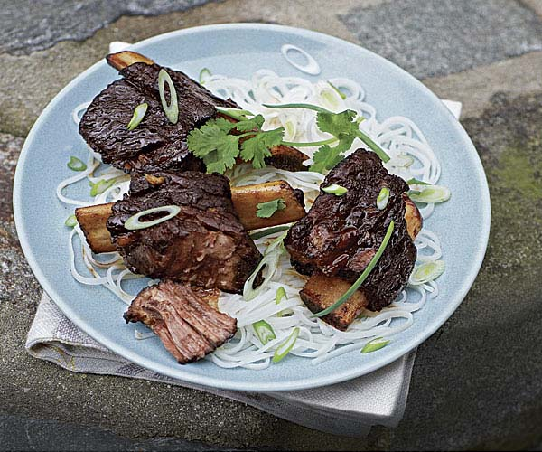 Barbecue Braised Vietnamese Short Ribs With Sweet Vinegar Glaze Recipe Finecooking