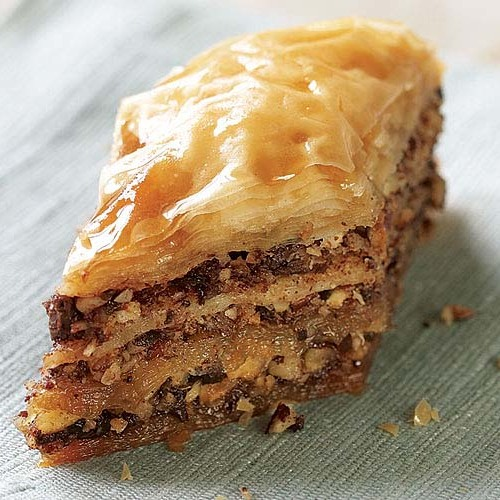 Hazelnut Chocolate Baklava With Espresso Frangelico Syrup Recipe Finecooking