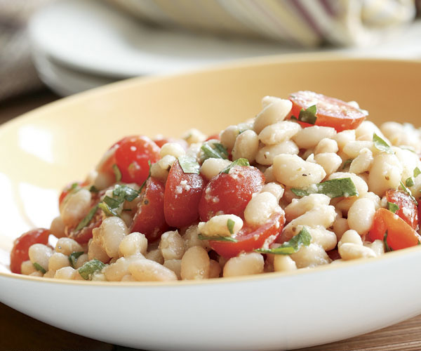 White Beans with Garlic, Lemon - Parmesan