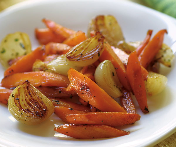 Glazed Carrots & Shallots with Thyme