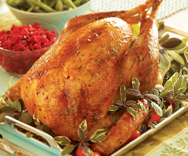 Herb Butter Roasted Turkey With Pinot Noir Gravy Recipe