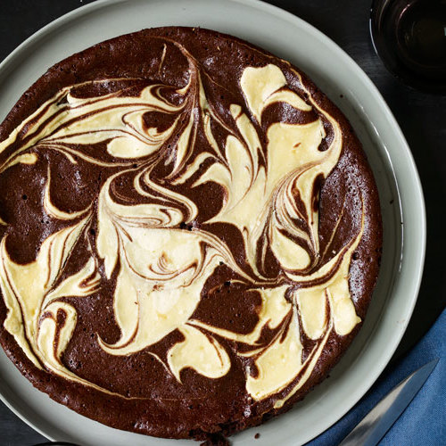 Flourless Chocolate Amp Vanilla Marble Cake Finecooking