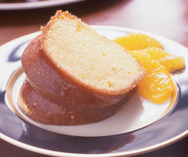 Orange Juice Sour Cream Cake Recipe