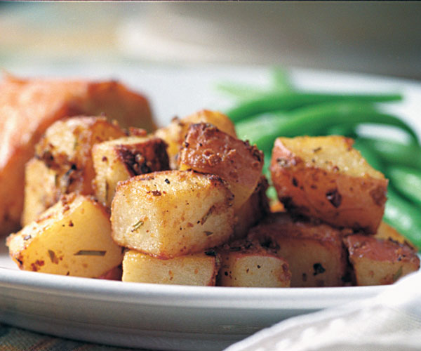 Mustard Rosemary Roasted Potatoes Recipe Finecooking