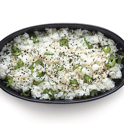 Short-Grain Rice with Quick Pickled Jalapeños - FineCooking