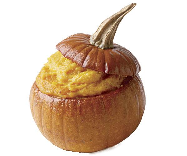 Pumpkin and Sweet Potato Purée with Orange and Thyme
