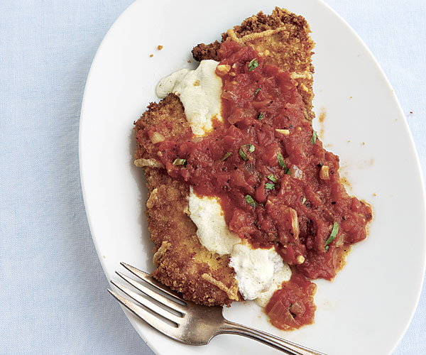 Quick chicken parmesan recipe finecooking quick chicken parmesan by melissa gaman fine cooking forumfinder Choice Image