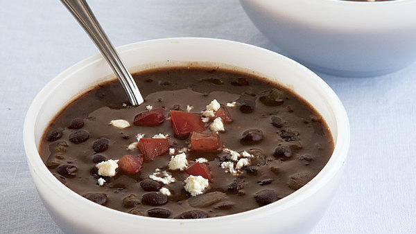 Black Bean Soup With Sherry Recipe Finecooking