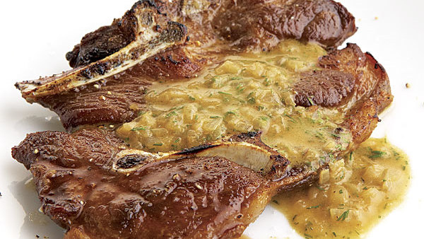 Seared lamb shoulder chops with mustard dill pan sauce recipe seared lamb shoulder chops with mustard dill pan sauce recipe finecooking publicscrutiny Images