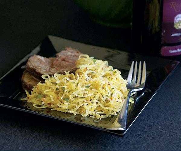 Spaghetti Squash with Indian Spices