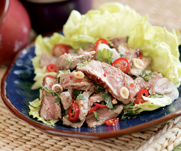 How to make authentic thai beef salad
