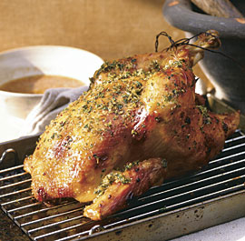Lemongrass Roast Chicken Recipe Finecooking