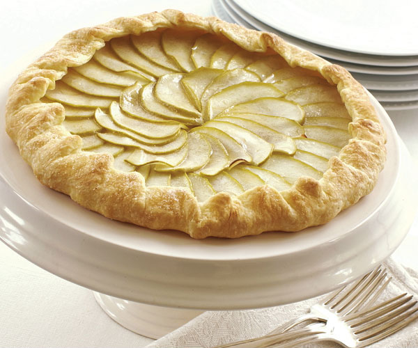 Apple Galette with Ginger Glaze