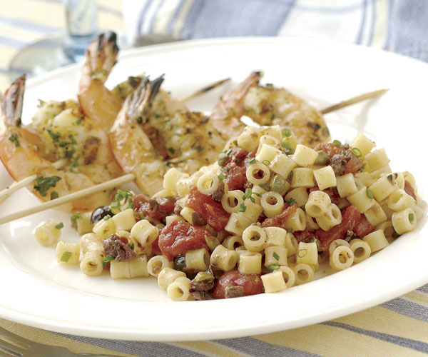 Ditalini with Tomatoes, Capers & Lemon Oil