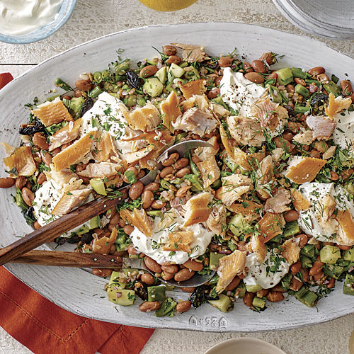 Smoked Trout And Summer Bean Salad Recipe Finecooking