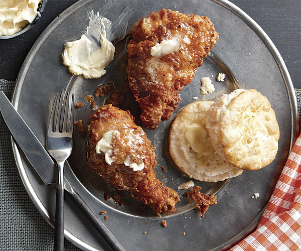 Fried Chicken With Paprika And Honey Butter