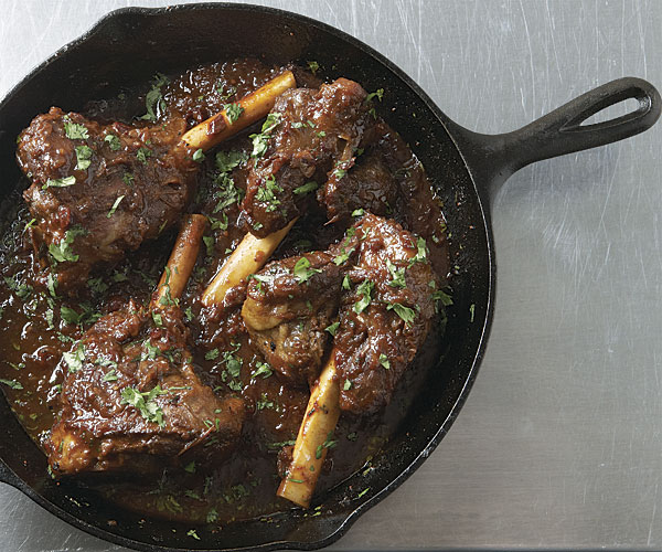 Southwestern Braised Lamb Shanks Recipe Finecooking