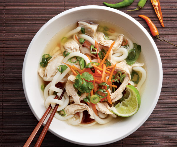 Chicken Noodle Soup With Lemongrass Recipe Finecooking