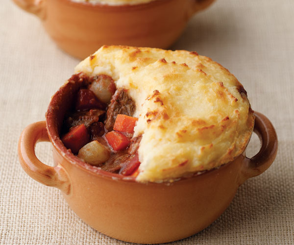 Shepherd S Pie With Cheddar Spiked Mashed Potatoes Recipe Finecooking
