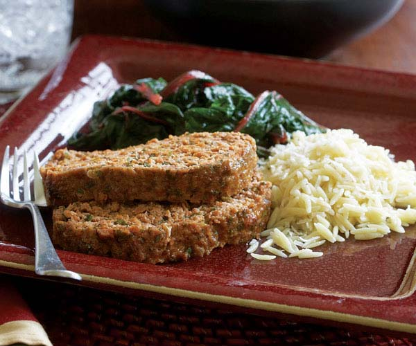 Meatloaf with Fresh Scallions & Herbs