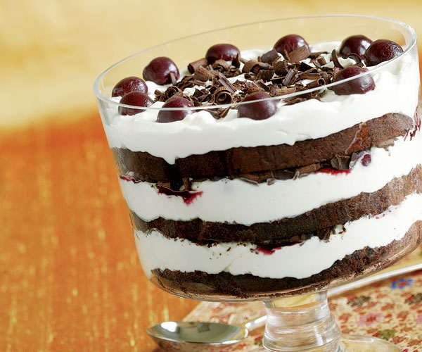 Trifle Bowl Recipes: Black Forest Trifle