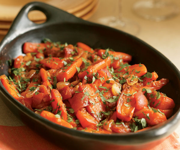 Braised Carrots & Shallots