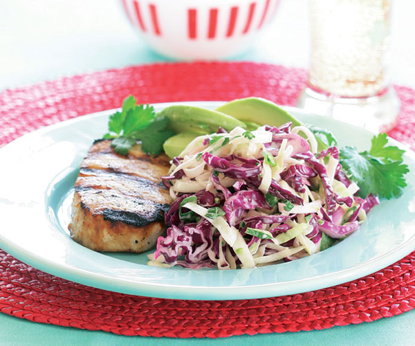 Mexican-Style Slaw with Jícama, Cilantro & Lime