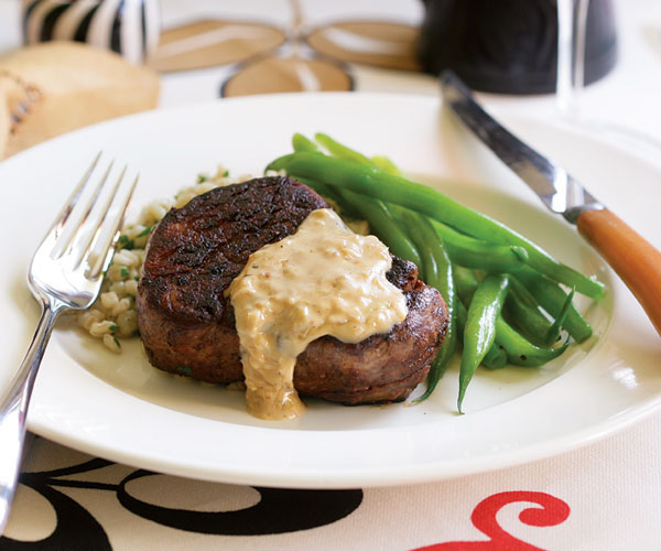 Filet Steaks With An Irish Whisky Cream Pan Sauce Recipe Finecooking