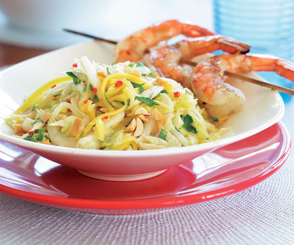 Asian-Style Slaw with Green Mango