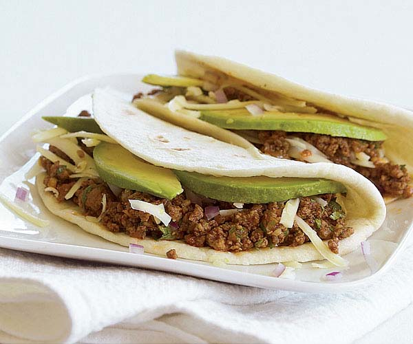 Turkey Tacos Recipe Finecooking