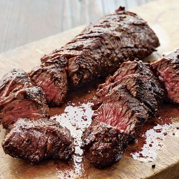 Grilled Spice-Rubbed Hanger Steak