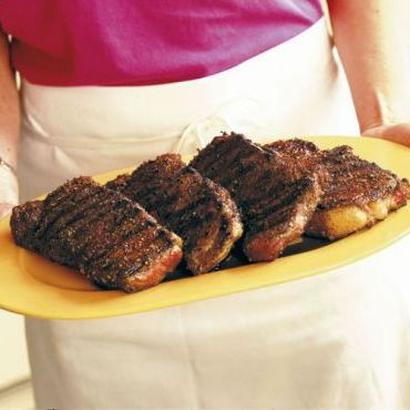 Spice-Rubbed Grilled Steaks