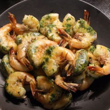 FoodWonk's Grilled Garlic Shrimp with Herbs recipe
