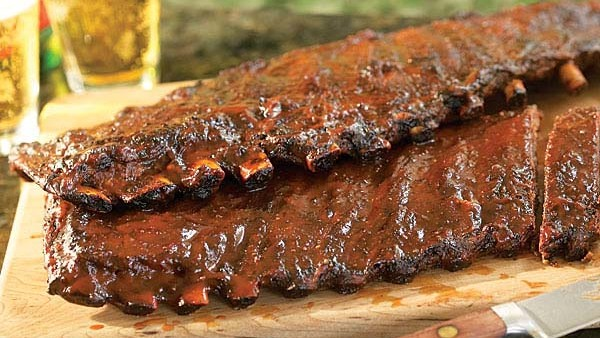 Apple Bacon Barbecued Ribs Gas Grill Version Recipe