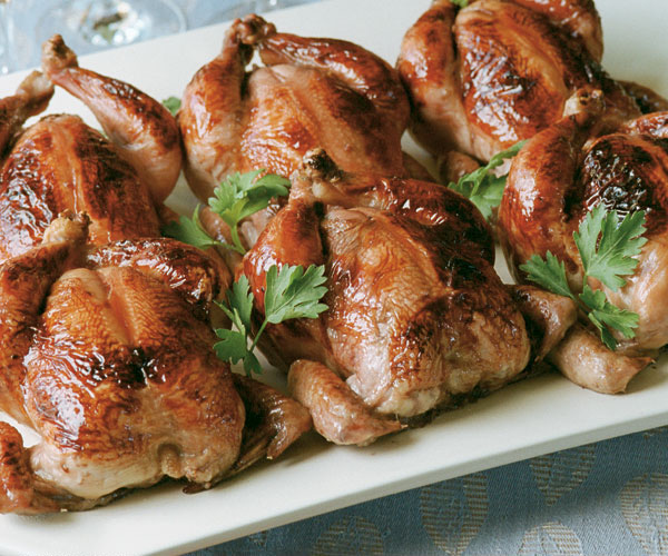 Cornish Game Hens with Rice Stuffing Recipe | Allrecipes