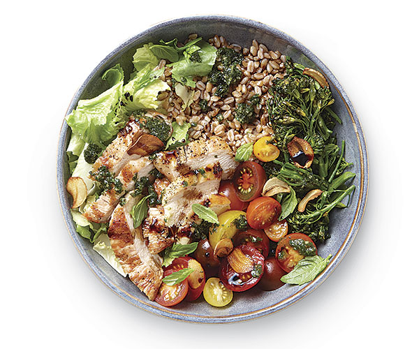The Anatomy Of A Grain Bowl How To Finecooking