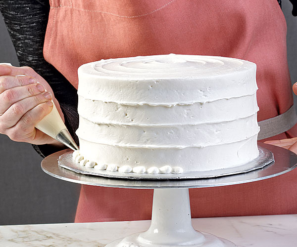 Frost Double Layer Cake Youtube