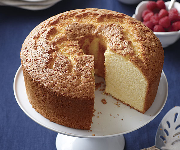 Light Lemon Sponge Cake Recipes: How To Make Chiffon Cake
