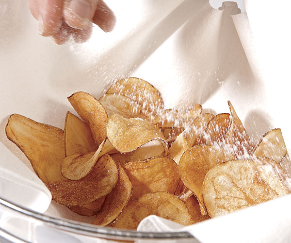 how to make potato crisps