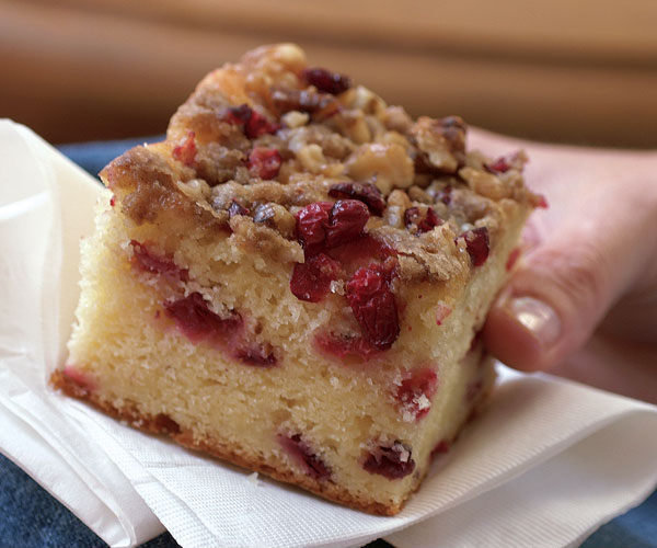 Cranberry Streusel Cake Fine Cooking