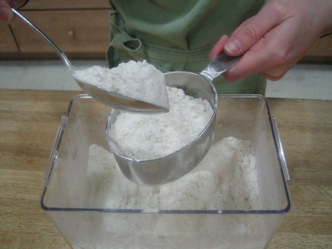 How to measure flour How to measure