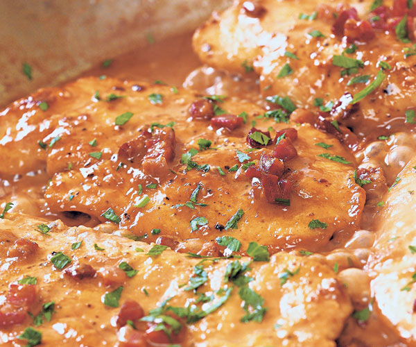 Give chicken cutlets deep flavor in a flash how to finecooking photo scott phillips forumfinder Choice Image