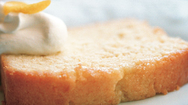 A Touch of Dairy Makes Pound Cakes Moist and Fine-Grained